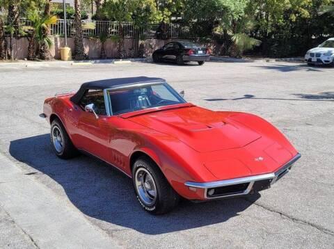 1968 Chevrolet Corvette for sale at Vintage Car Collector in Glendale CA