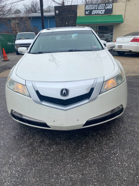 2009 Acura TL for sale at Murrays Used Cars in Baltimore MD
