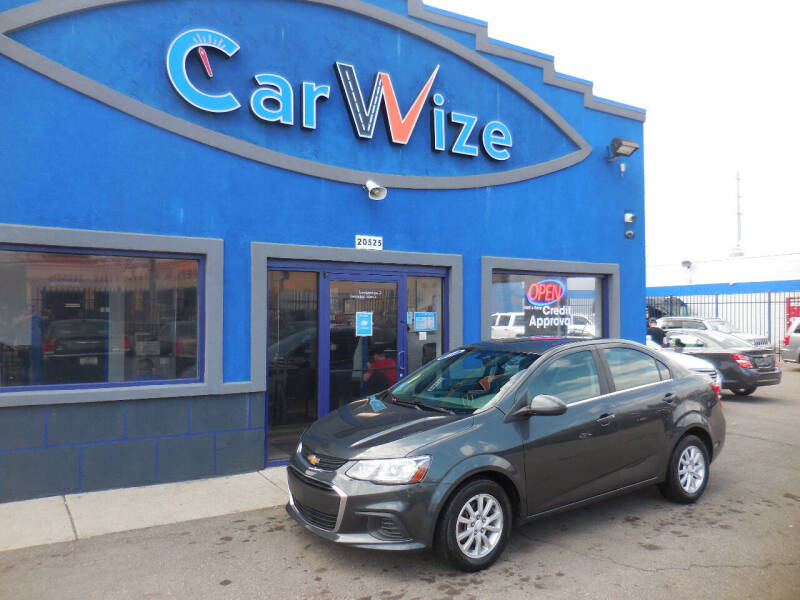 2017 Chevrolet Sonic for sale at Carwize in Detroit MI