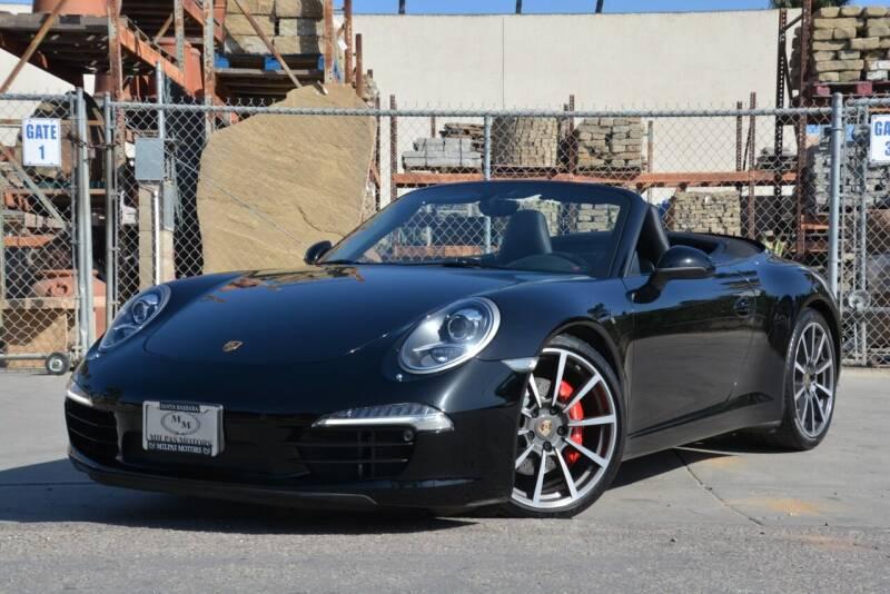 2012 Porsche 911 for sale in Santa Barbara, CA