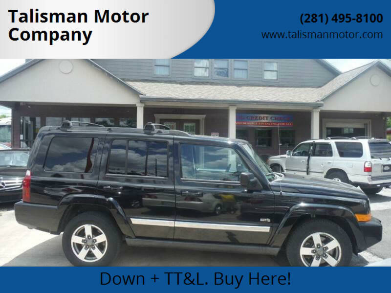 2006 Jeep Commander for sale at Don Jacobson Automobiles in Houston TX