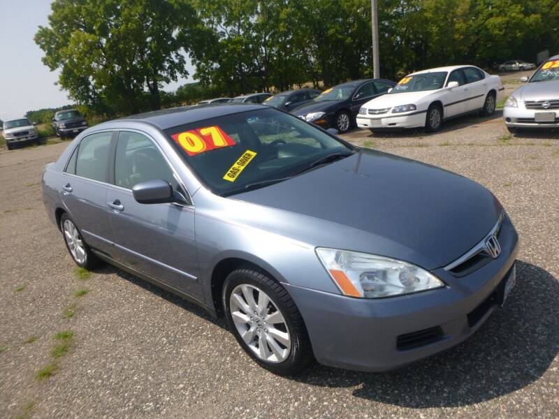 2007 Honda Accord for sale at Country Side Car Sales in Elk River MN