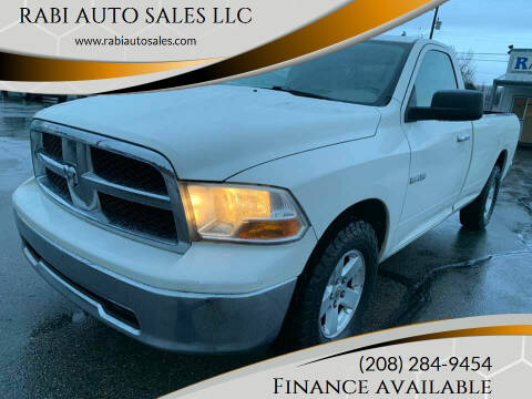 2009 Dodge Ram Pickup 1500 for sale at RABI AUTO SALES LLC in Garden City ID