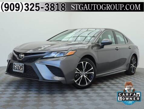 2020 Toyota Camry for sale at STG Auto Group in Montclair CA