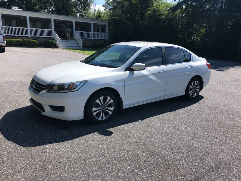 2014 Honda Accord for sale at Dorsey Auto Sales in Anderson SC