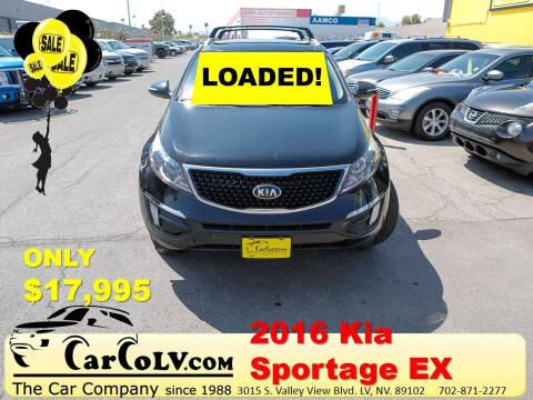2016 Kia Sportage for sale at The Car Company in Las Vegas NV