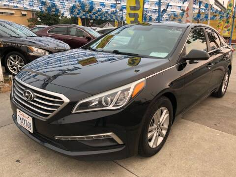 2015 Hyundai Sonata for sale at Plaza Auto Sales in Los Angeles CA