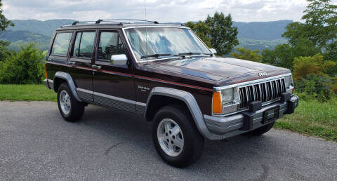 1991 Jeep Cherokee for sale at Rare Exotic Vehicles in Weaverville NC