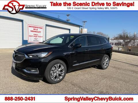 2021 Buick Enclave for sale at Spring Valley Chevrolet Buick in Spring Valley MN