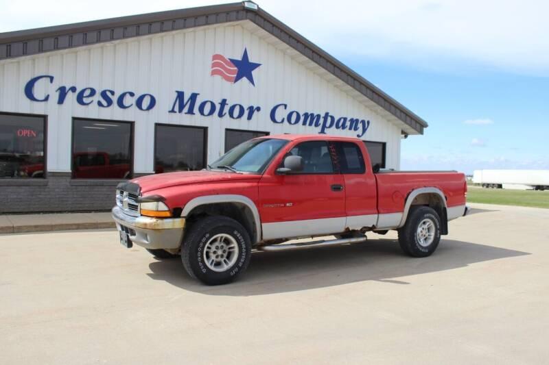 1999 Dodge Dakota for sale at Cresco Motor Company in Cresco IA