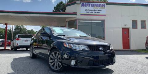 2011 Kia Forte Koup for sale at Automan Auto Sales, LLC in Norcross GA