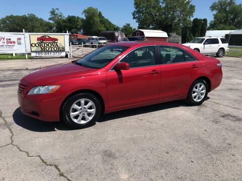 2008 Toyota Camry for sale at Cordova Motors in Lawrence KS