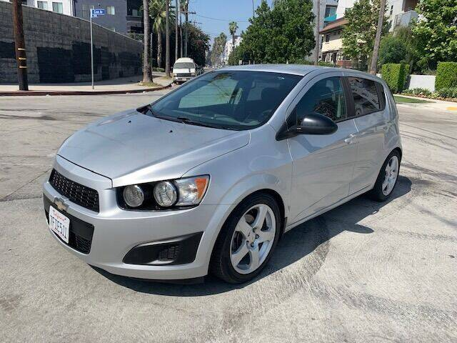 2012 Chevrolet Sonic for sale at FJ Auto Sales in North Hollywood CA