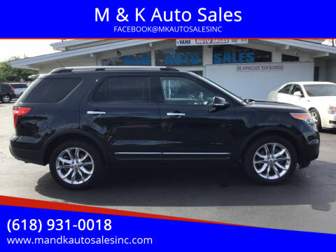 2014 Ford Explorer for sale at M & K Auto Sales in Granite City IL