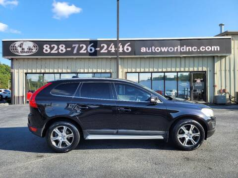2012 Volvo XC60 for sale at AutoWorld of Lenoir in Lenoir NC