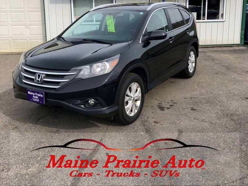 2014 Honda CR-V for sale at Maine Prairie Auto INC in Saint Cloud MN