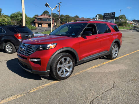 2020 Ford Explorer for sale at WENTZ AUTO SALES in Lehighton PA