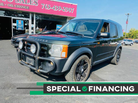 2005 Land Rover LR3 for sale at LUXURY IMPORTS AUTO SALES INC in North Branch MN