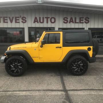 2015 Jeep Wrangler for sale at STEVE'S AUTO SALES INC in Scottsbluff NE