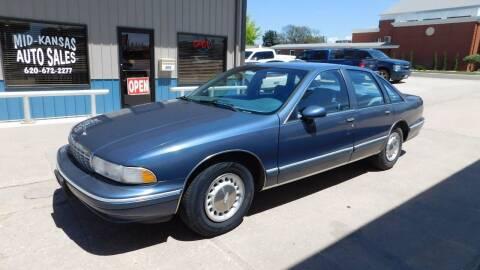 1994 Chevrolet Caprice for sale at Mid Kansas Auto Sales in Pratt KS