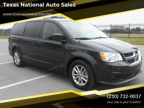 2014 Dodge Grand Caravan for sale at Texas National Auto Sales in San Antonio TX
