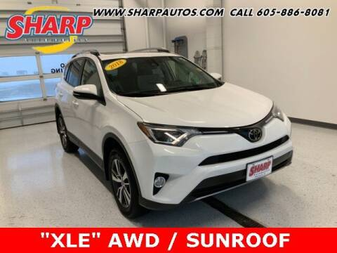2018 Toyota RAV4 for sale at Sharp Automotive in Watertown SD