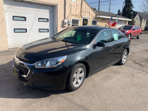 2015 Chevrolet Malibu for sale at PAPERLAND MOTORS in Green Bay WI