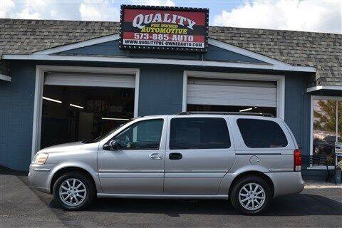 2005 Buick Terraza for sale at Quality Pre-Owned Automotive in Cuba MO