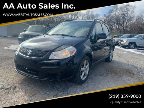 2009 Suzuki SX4 Crossover for sale at AA Auto Sales Inc. in Gary IN