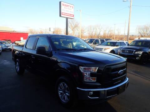 2017 Ford F-150 for sale at Marty's Auto Sales in Savage MN