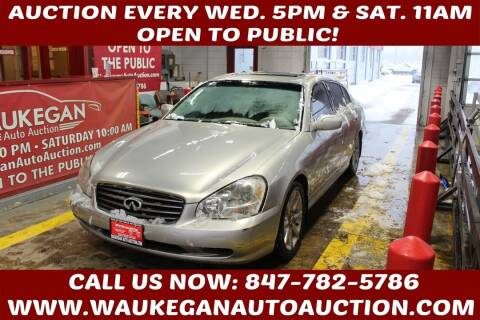 2002 Infiniti Q45 for sale at Waukegan Auto Auction in Waukegan IL