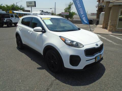 2017 Kia Sportage for sale at Team D Auto Sales in St George UT