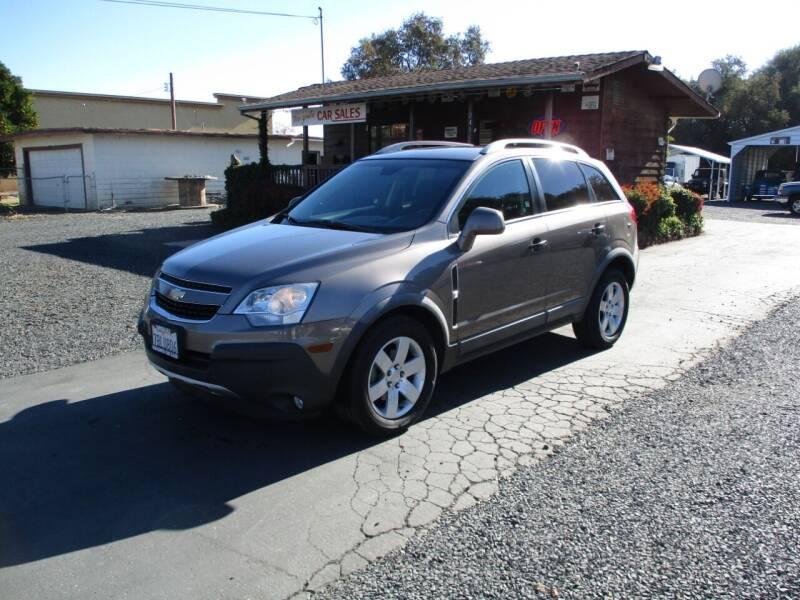2012 Chevrolet Captiva Sport for sale at Manzanita Car Sales in Gridley CA