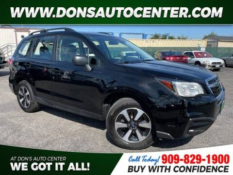 2017 Subaru Forester for sale at Dons Auto Center in Fontana CA