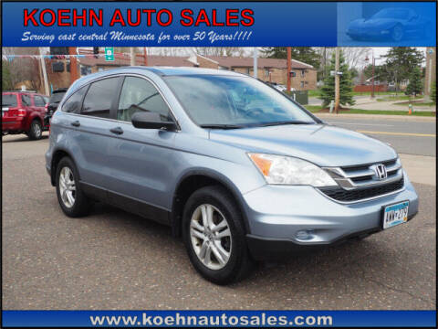 2010 Honda CR-V for sale at Koehn Auto Sales in Lindstrom MN