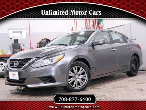 2016 Nissan Altima for sale at Unlimited Motor Cars in Bridgeview IL