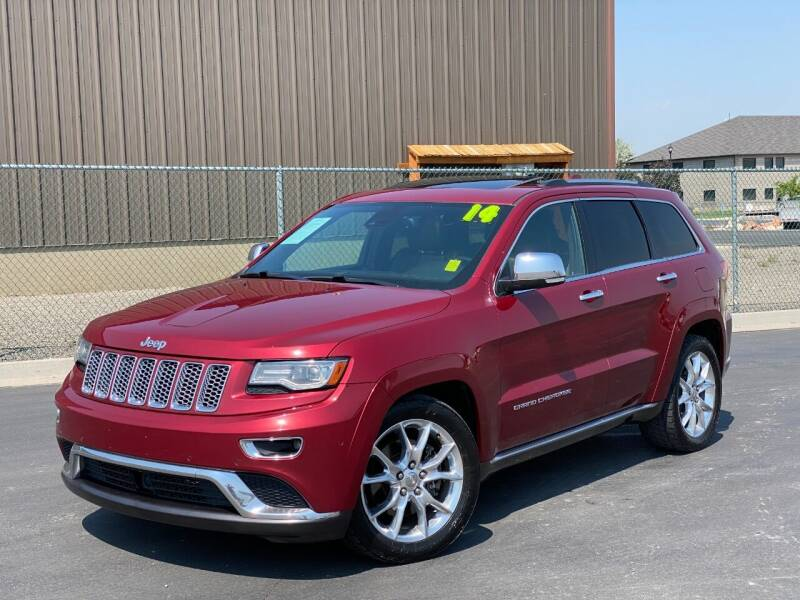 2014 Jeep Grand Cherokee for sale at Evolution Auto Sales LLC in Springville UT