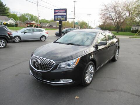 2015 Buick LaCrosse for sale at Lake County Auto Sales in Painesville OH