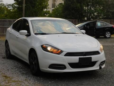 2016 Dodge Dart for sale at Prize Auto in Alexandria VA