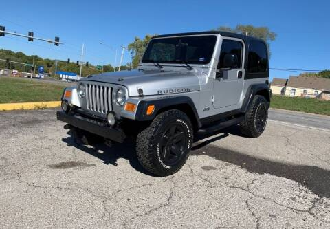 2004 Jeep Wrangler for sale at InstaCar LLC in Independence MO