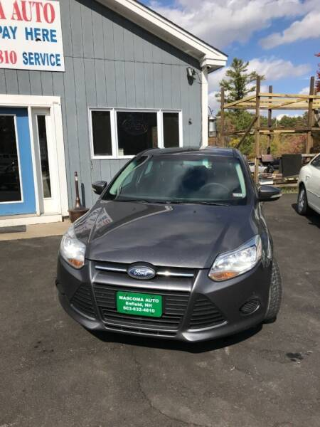 2014 Ford Focus for sale at Mascoma Auto INC in Canaan NH