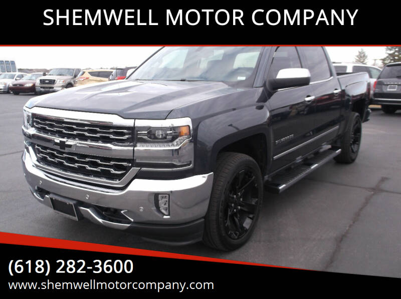 2017 Chevrolet Silverado 1500 for sale at SHEMWELL MOTOR COMPANY in Red Bud IL