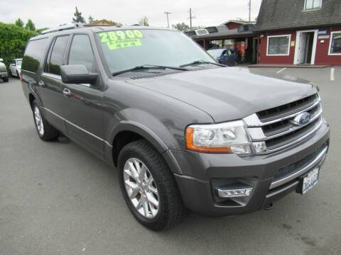 2015 Ford Expedition EL for sale at Tonys Toys and Trucks in Santa Rosa CA