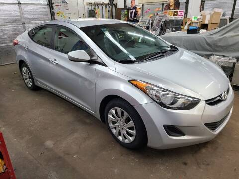 2012 Hyundai Elantra for sale at Devaney Auto Sales & Service in East Providence RI