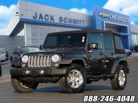 2016 Jeep Wrangler Unlimited for sale at Jack Schmitt Chevrolet Wood River in Wood River IL