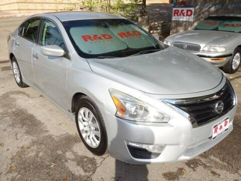 2014 Nissan Altima for sale at R & D Motors in Austin TX
