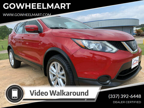 2018 Nissan Rogue Sport for sale at GOWHEELMART in Leesville LA