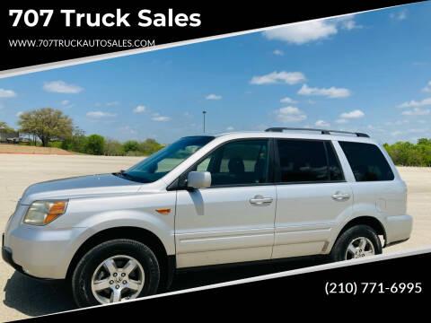 2006 Honda Pilot for sale at 707 Truck Sales in San Antonio TX