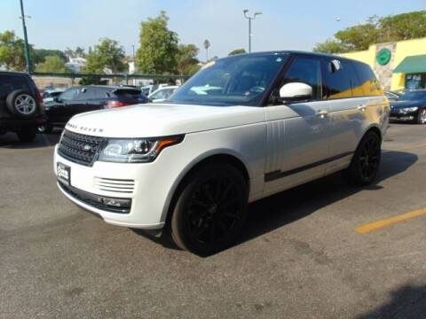 2013 Land Rover Range Rover for sale at Santa Monica Suvs in Santa Monica CA