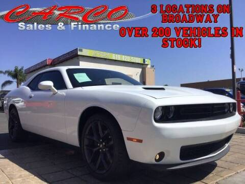2019 Dodge Challenger for sale at CARCO SALES & FINANCE in Chula Vista CA